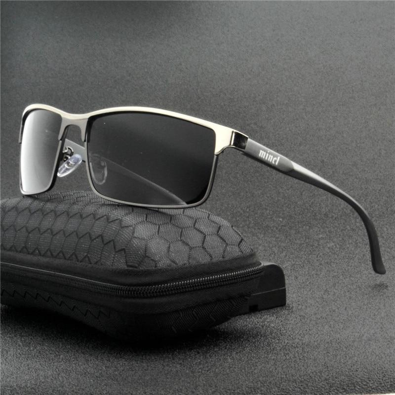 Мужские прямоугольные поляризованные солнцезащитные очки FML, прямоугольные солнцезащитные очки с защитой от ультрафиолета из алюминия, 2019 Мужские солнцезащитные очки      АлиЭкспресс