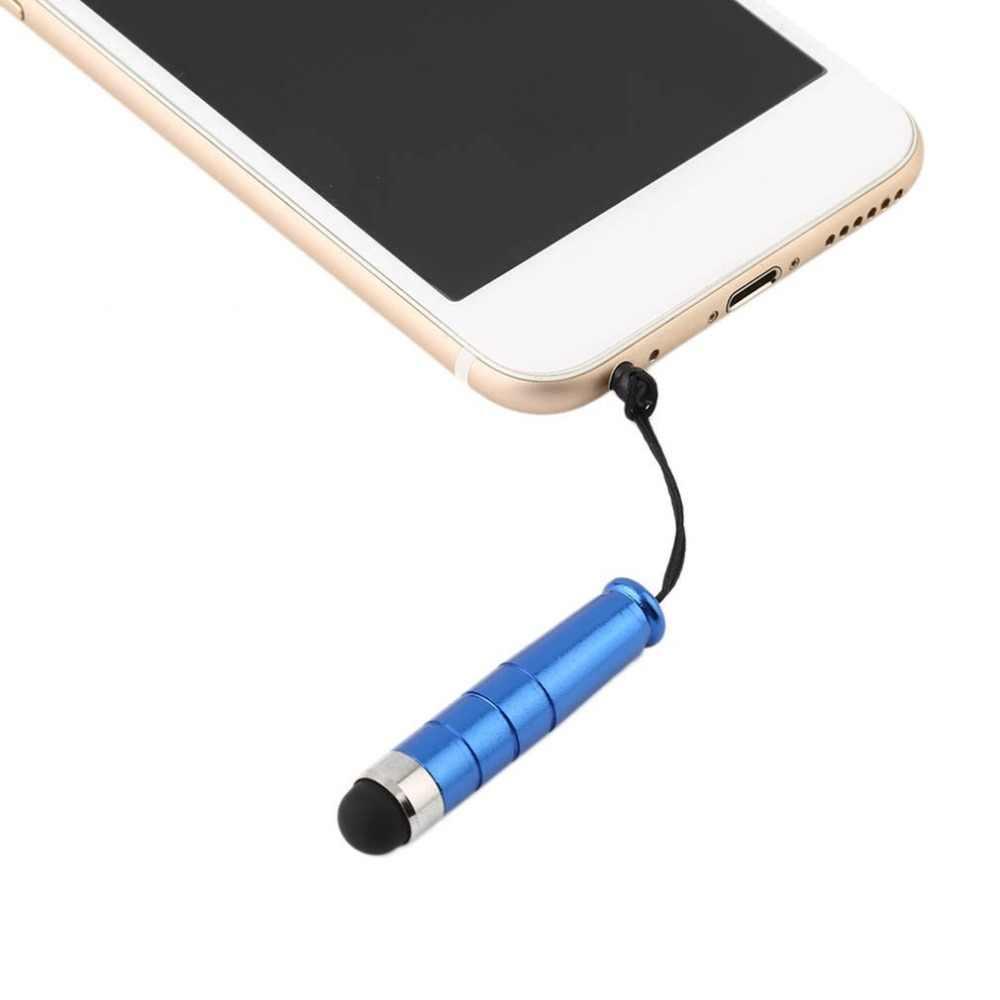 شحن مجاني الأسود ستايلس القلم لجميع بالسعة قلم شاشة اللمس لباد فون جميع الهواتف المحمولة اللوحي