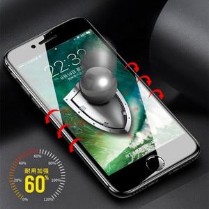 Image 5 - 6D tam kapak temperli cam iPhone 11 Pro 8 7 6 6S artı X XS MAX iphone 7 8x12 Pro Mini ekran koruyucu koruyucu cam