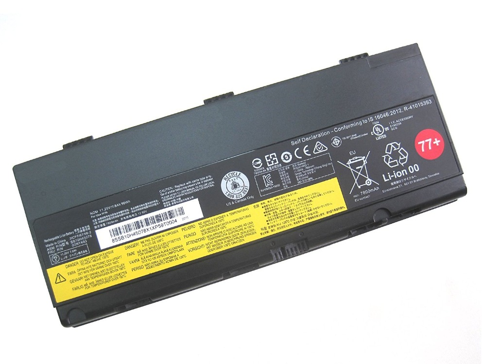 font b Laptop b font Battery SB10H45078 00NY493 11 25V 90WH 77 For Lenovo ThinkPad