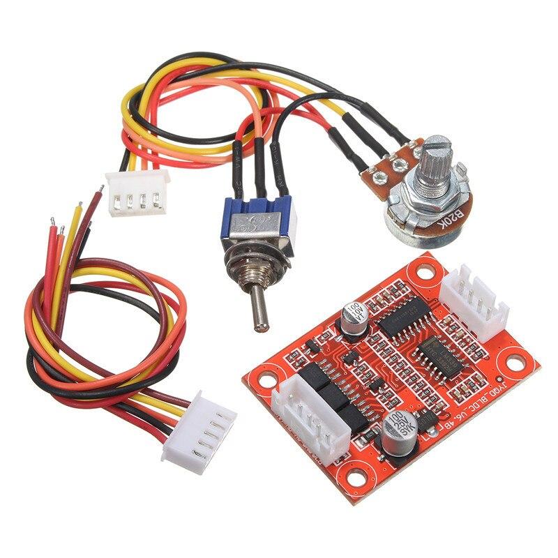 escova motor driver controlador board diy kit 05