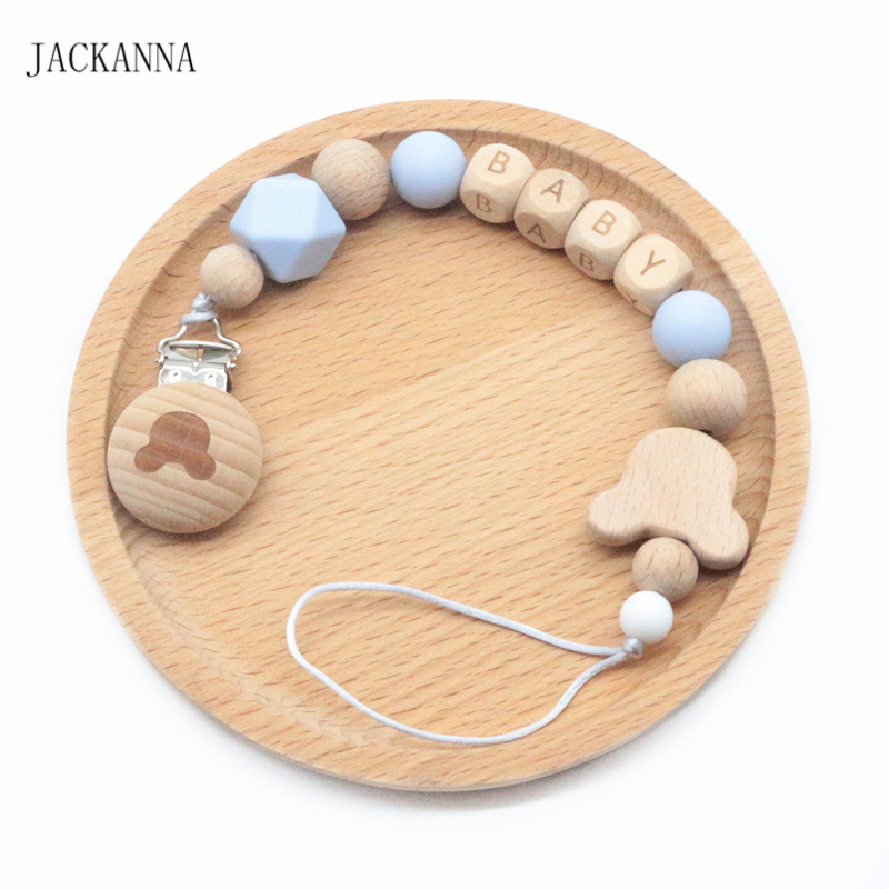 Eternitry dummy clips Chain Baby Pacifier Chains Newborn Fixing Plastic appease Chewable Teether Holder Clip Infant Anti-Drop Soother for Kid Girls and Boys