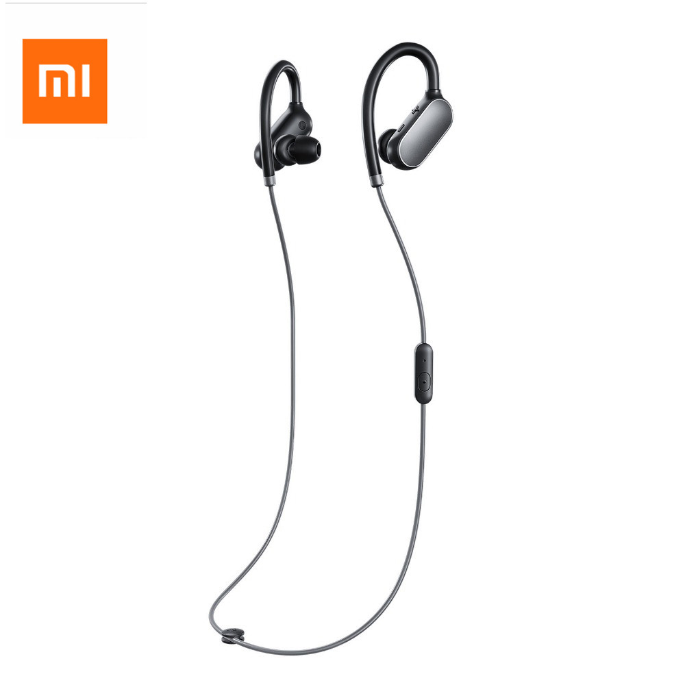 Original Xiaomi headphones Xiaomi Mi Sport Bluetooth Headset Wireless Earbuds With Microphone Waterproof Bluetooth 4.1 Earphone kz headset storage box suitable for original headphones as gift to the customer
