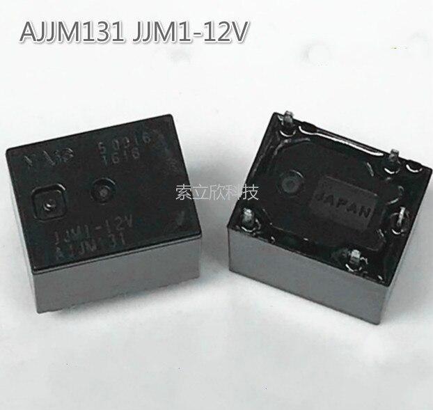 2pcs New Ajjm131 Jjm1-12v Automotive Computer Board Relay 5 Pins