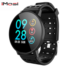 Imosi T3 Smart watch waterproof Activity Fitness tracker HR Blood oxygen pressure Clock Men women smartwatch