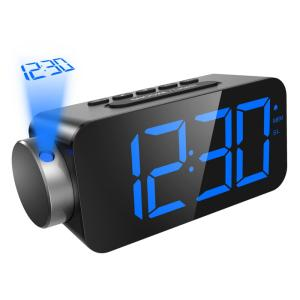 ORIA Projection Clock FM Radio