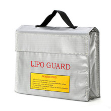 New High Quality Rc LiPo Battery Fireproof Portable Explosion Proof Safety Bag Safe Guard High Temperature