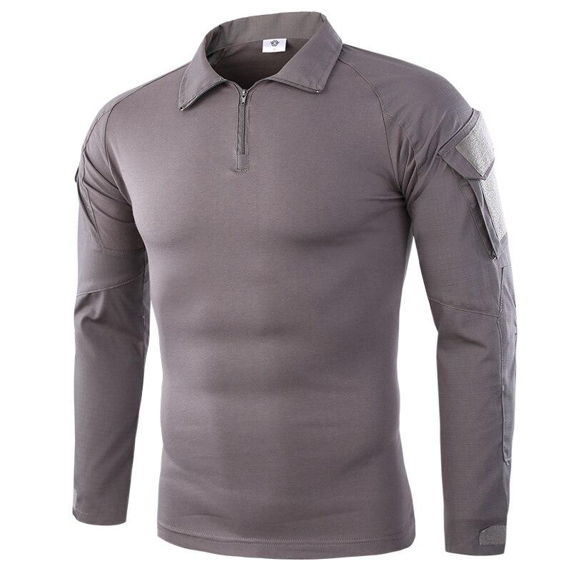 Men Summer Army Combat Tactical T Shirt 1