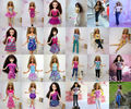 15 Pcs Mix Style Doll Princess Skirt Shirt Tops Pants For Barbie Kurhn Doll Accessories Girl Gift Free Shipping