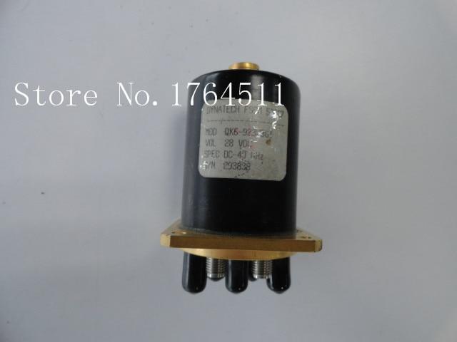 [BELLA] DYNATECH FSCM QK6-923J801 DC-40GHZ Six 28V 3.5mm RF -