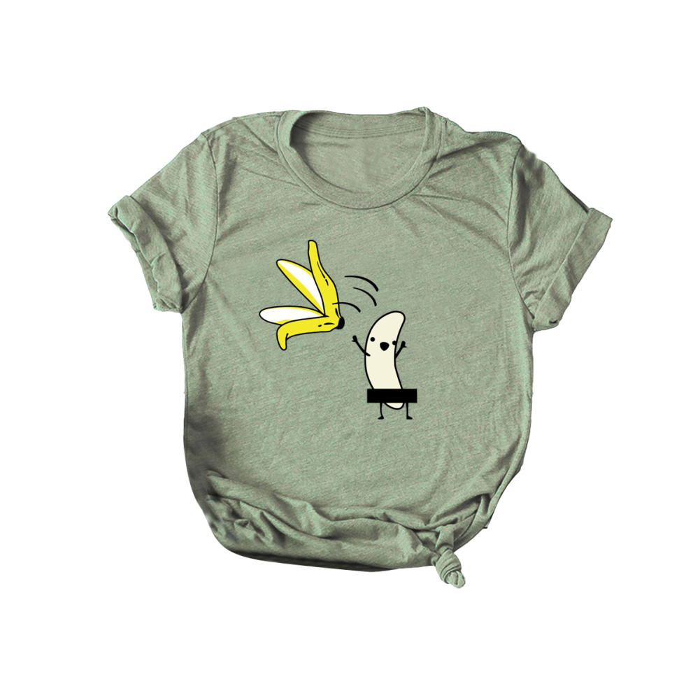 2-Pack Cotton Tee Broccoli Cartoon Baby Girls Short Sleeve Ruffles T-Shirt Tops