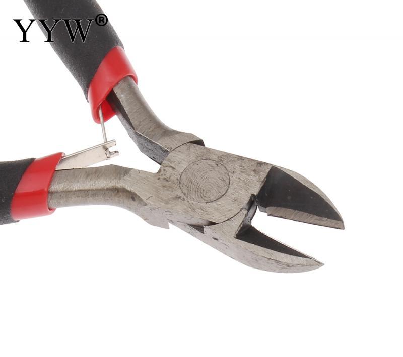 1 Stück Crimpen Zange Schmuck Cutter Hand Werkzeug Schwarz Griff Metall Draht Schneiden Draht Nipper Reparatur Schere Zange Ferronickel Werkzeug Modische Und Attraktive Pakete