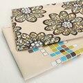 Impresso tecido de flanela toalha de mesa toalha de sofá para a almofada do assento para inclinar de fronha