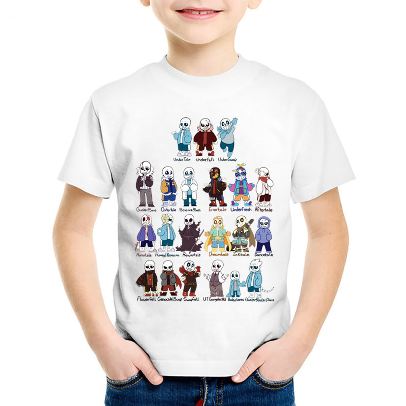 Fashion Print Undertale Sans Gather Children Funny T-shirts Kids Game Summer Tees Boys/Girls Casual Tops Baby Clothes,HKP1751Fashion Print Undertale Sans Gather Children Funny T-shirts Kids Game Summer Tees Boys/Girls Casual Tops Baby Clothes,HKP1751