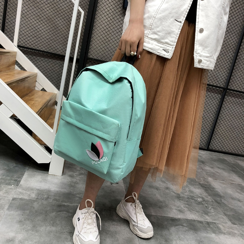 Fashion Backpack Women Canvas 1019G Travel Bookbags School Bags for Teenage Girls Vintage цена
