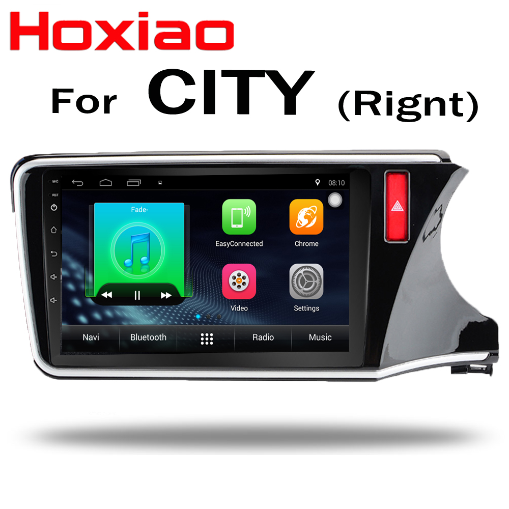 Android Car dvd player for HONDA CITY Right 2015 2016 2017 2018 10 inch gps navigation