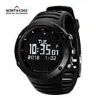 NOORD RAND Mannen Sport Horloge Hoogtemeter Barometer Kompas Thermometer Stappenteller Calorieën Horloges Digitale Running Klimmen Horloge