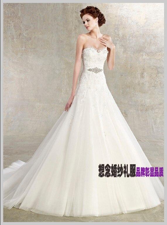 2013 Wedding Elegant Lace Tube Top Heart Shaped Bling Diamond