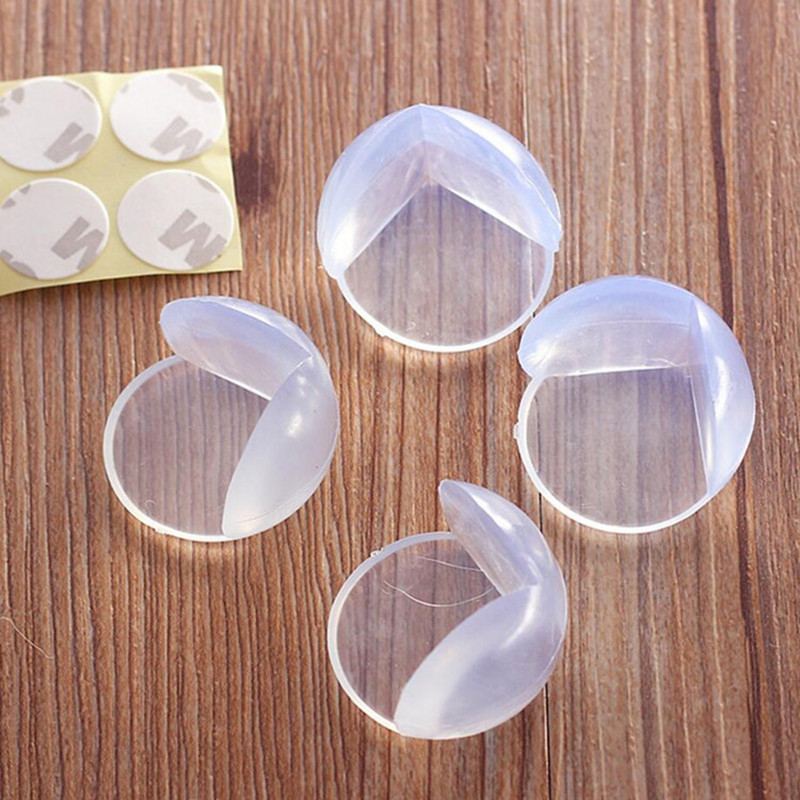 8Pcs Baby Safety Corner Protector For Furniture Baby Kids Table Corners Anticollision Edge & Corner Guard Child Safety