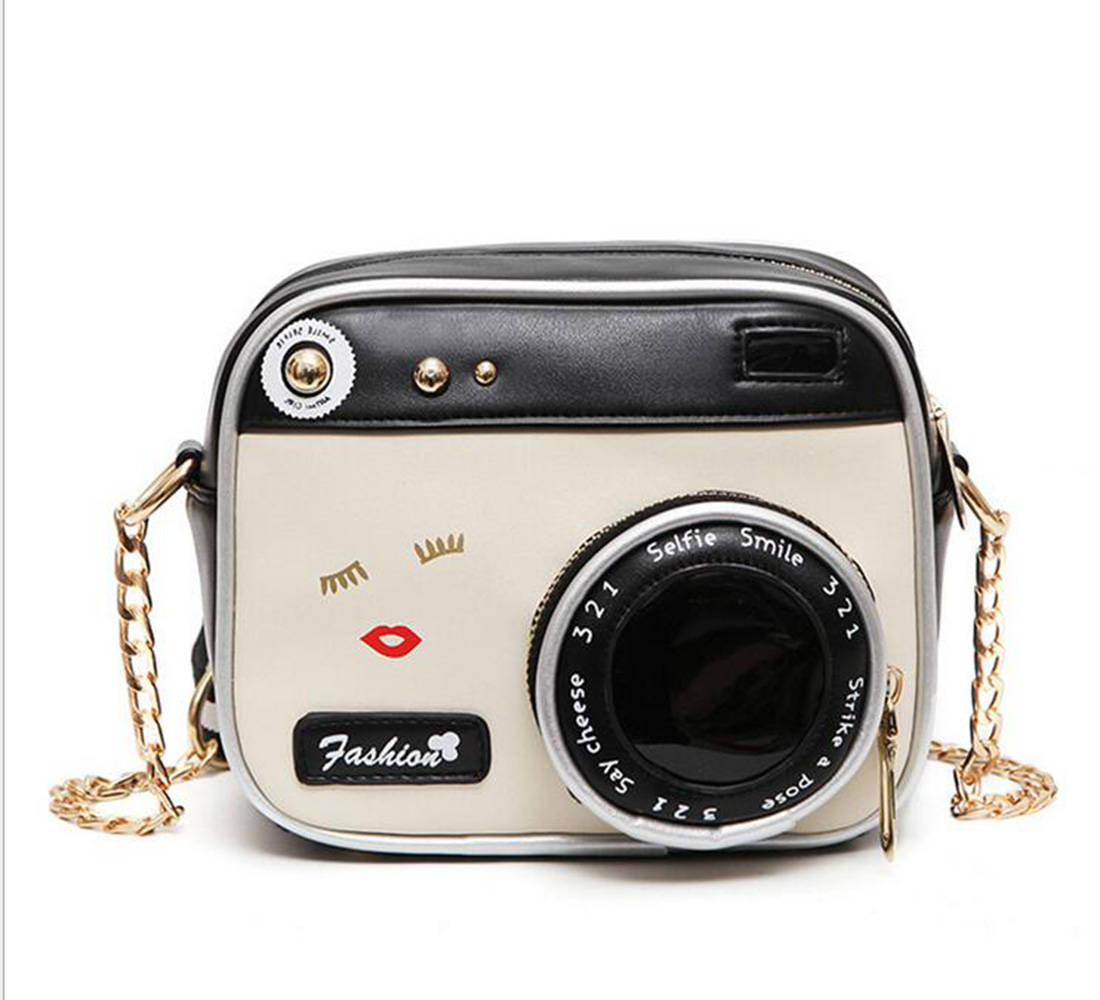 Funny Camera Designer Mini Flap Bag Leather Laser Mirror Shoulder Messenger  Crossbody Bags Clutch Purse Day Clutches bolsa. 20x Magnification Mirror Promotion Shop for Promotional 20x