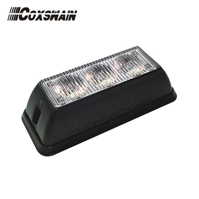 Coxswain LED Surface Mount Kits for Car , TIR-3 1W LED, 18 flash pattern, 100% waterproof, Car LED Head lights (VS-738)