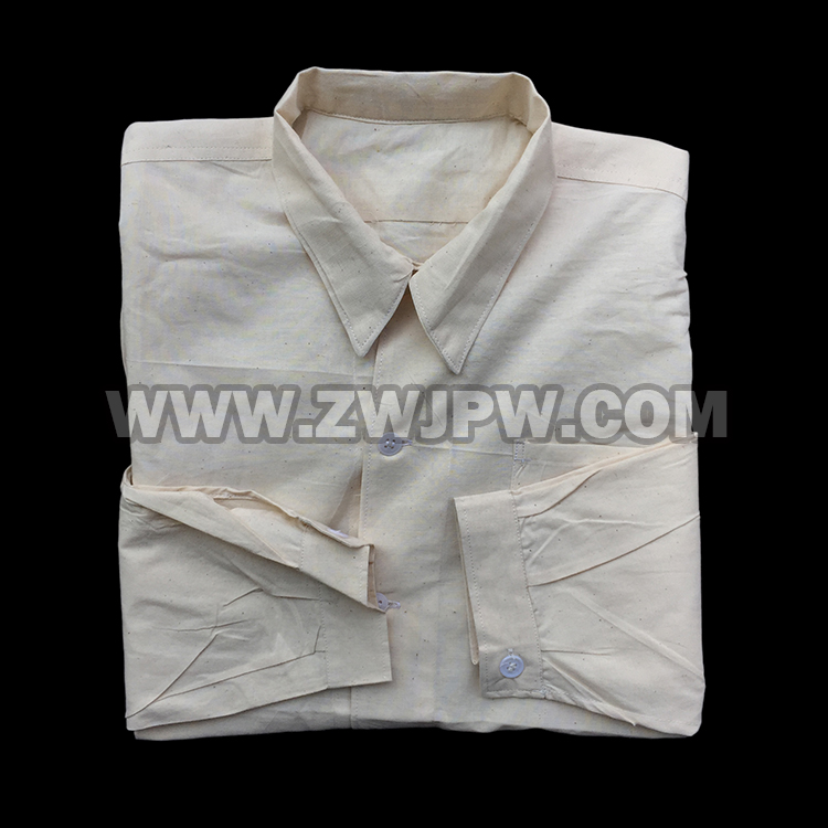 CHINESE MAN 65 PURE COTTON WHIT SHIRT  ORIGIANL