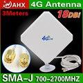 35dBi 4 Г Антенна ВНЕШНЯЯ LTE WI-FI SMA Антенны Усилитель Сигнала Разъем для HUAWEI B593 B890 B880 4G Антенны
