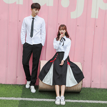 Hot New Arrival Japanese Korean British Students School Uniform Class Service Summer Girl Novelty Uniforms Xxl