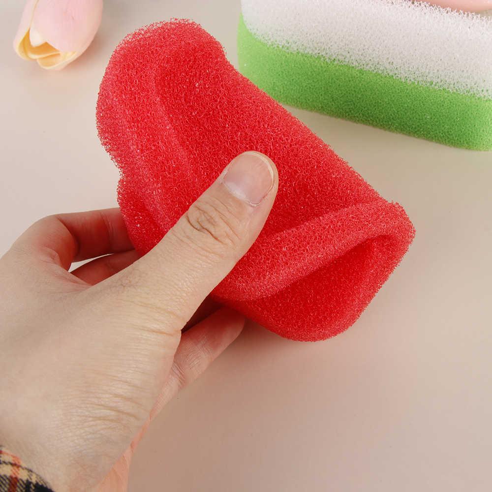 3 PEÇAS cor aleatória Novo Lar Doce Cor Esponja Esponja de Espuma De Sabão Prato Titular Cremalheira Do Banheiro Suporte Do Sabão