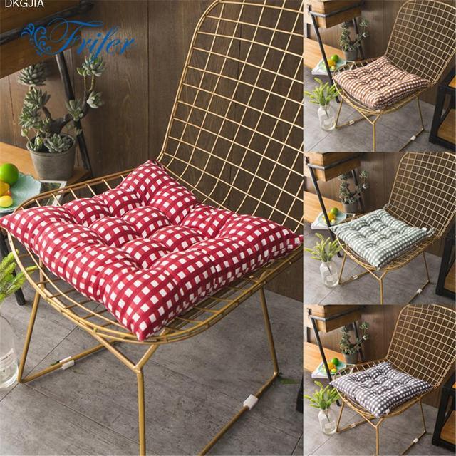 Bon Home Office Decor Round Comfortable Cotton Seat Cushion Office Bar Chair  Back Seat Cushions Sofa Pillow