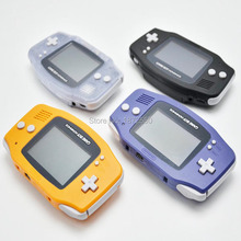 Hot Black/Blue/Orange/Clear Color Retro Handheld Game BA Console For NintendoGBA Game Handheld Original Refurbished Boy Advance