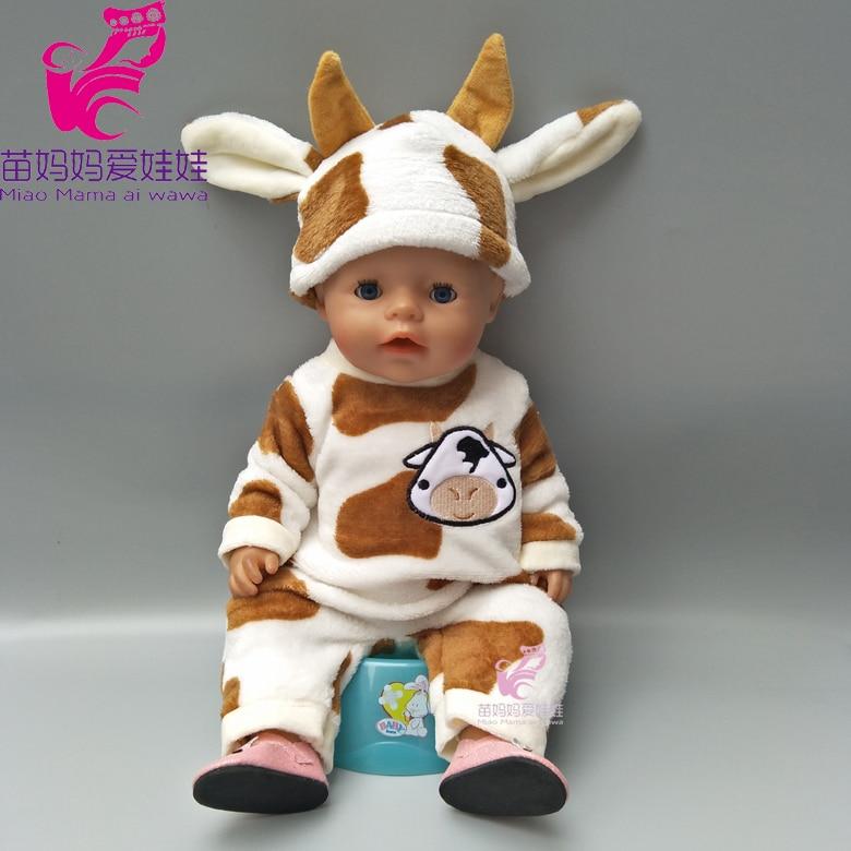 43cm Bayi lahir pakaian boneka kartun ayam set untuk 18 inch zapf - Boneka dan aksesoris - Foto 2