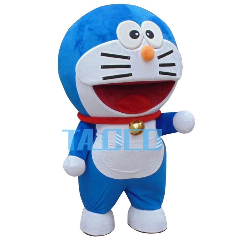Doraemon Robot chat mignon personnage Anime Manga mascotte Costume adulte Costume dessin animé