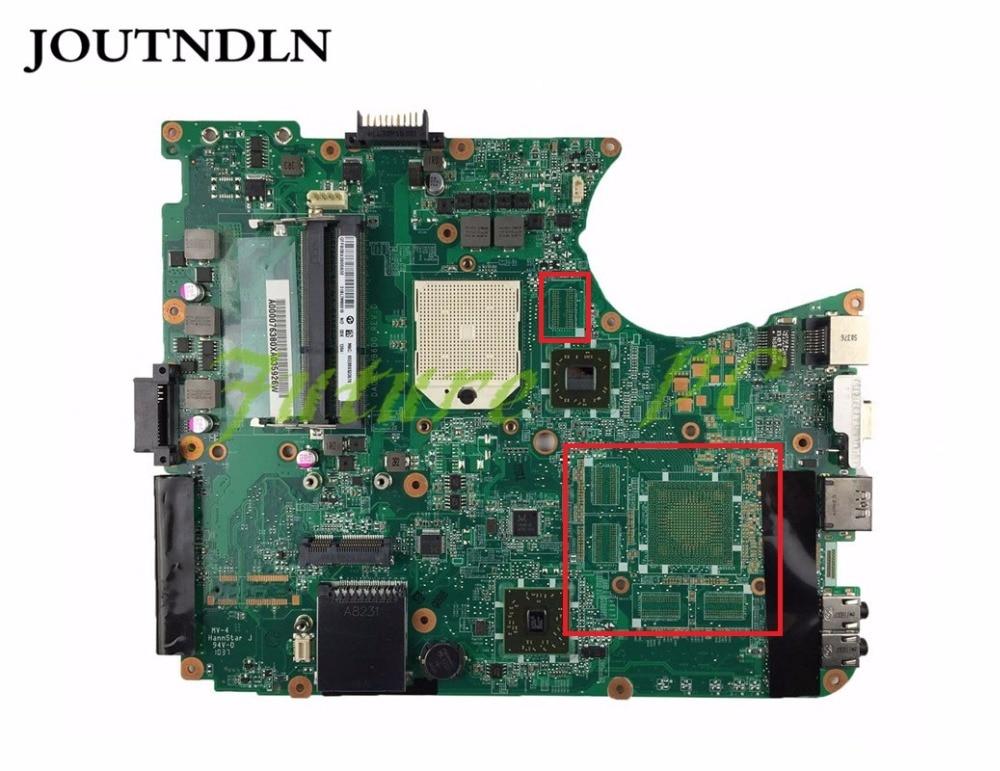 JOUTNDLN PARA Toshiba L650D L655D laptop motherboard DA0BL7MB6D0 A000076380 DDR3 Testado trabalho