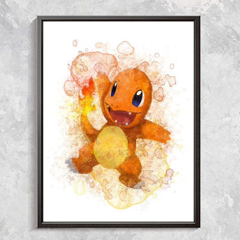 Pokemon Canvas Art Prints Home Decor