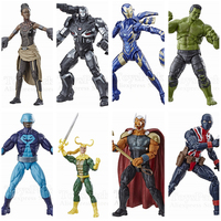 Marvel Legends Endgame HULK BAF Wave 6 Action Figure Pepper Rescue War Machine Shuri Loki BetaRayBill Original Collection Toys