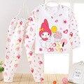Pijamas de algodón niños ropa interior pijamas pijamas invierno de los cabritos para las muchachas del muchacho ropa de noche infantil ropa 20 #