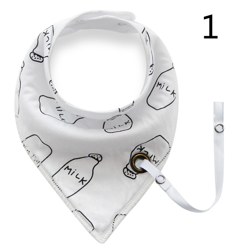 2017 Baberos Bebes Baby Bibs Scarfs Cotton Infant Bandana Cute Cartoon Prints NewBorn Baby Feeding use