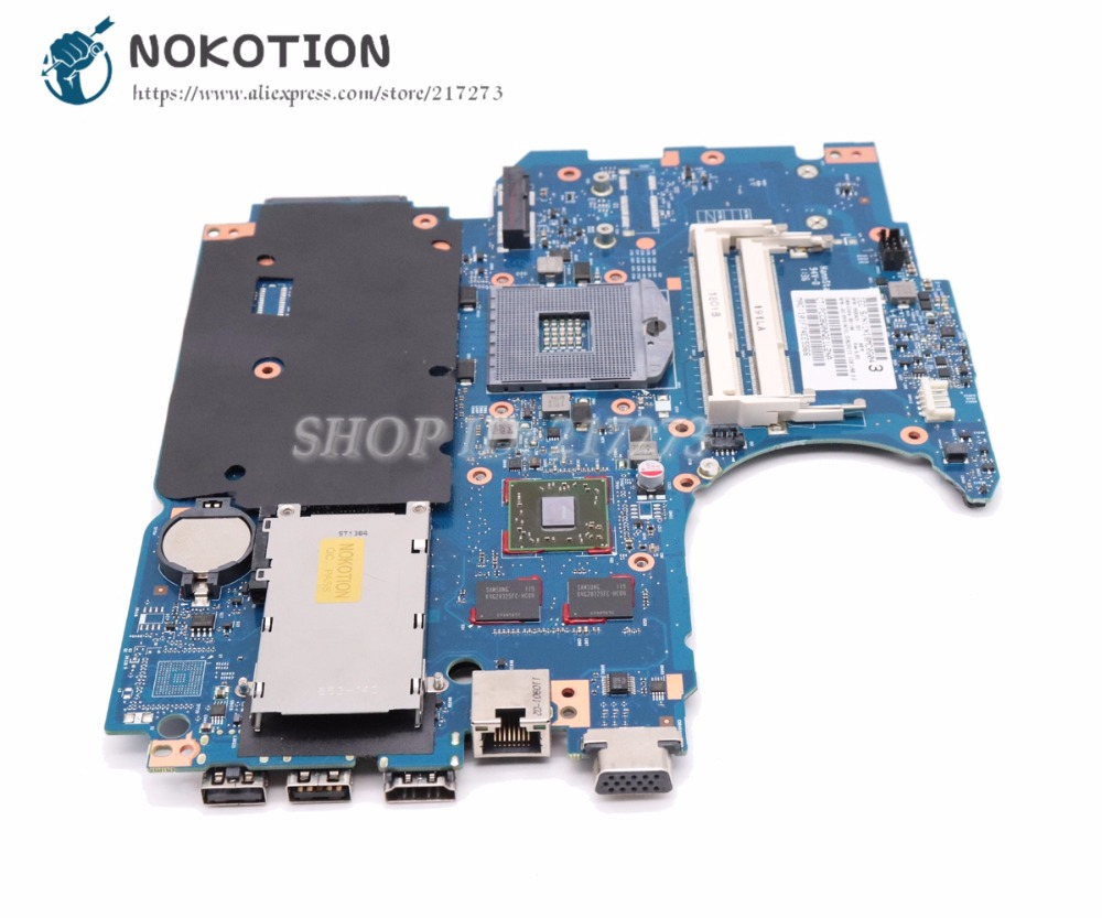 For HP ProBook 4730s 4530s Laptop Motherboard 670795-001 with 1GB graphic card
