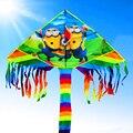 O envio gratuito de alta qualoty crianças pipas 20 pçs/lote com linha pega brinquedos ao ar livre voando weifang pipa fábrica bar carretel 3d nova