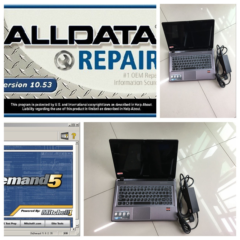 alldata mitchell on demand alldata v10.53 auto repair software 2016 all data + mitchell 2015 +2017.03v sd c4 z485 new 4gb laptop