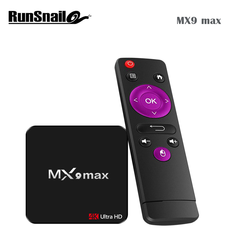 MX9 max Smart Android 7.1 TV Box RK3328 Quad Core 4K VP9 H.265 HDR10 USB3. 2GB/16GB Mini PC Set Top Box WiFi LAN HD Media Player new mk903v rk3288 quad core cortex a17 android smart mini pc tv stick ultra hd 4k hdmi wifi h 264 h 265 bdmv iso android tv box