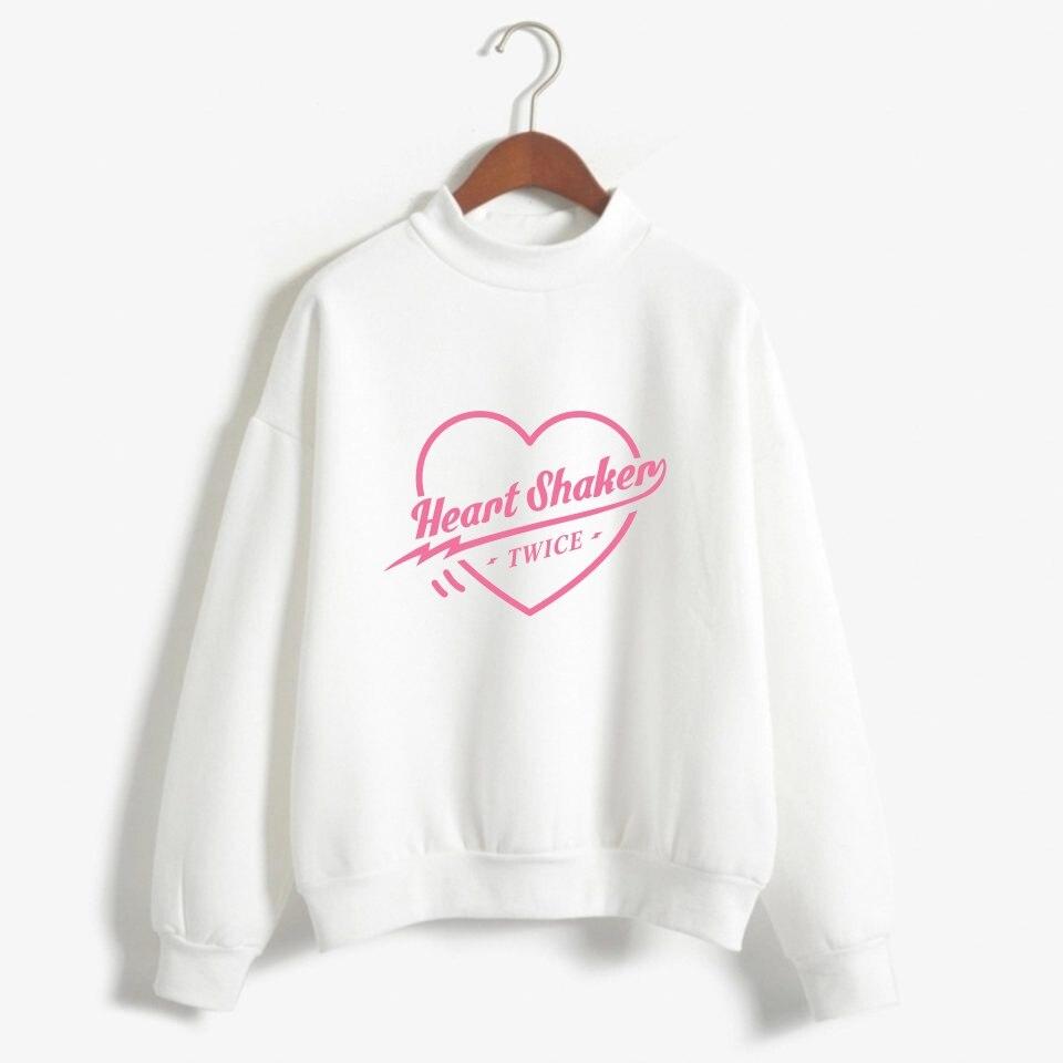 BTS K pop coréen deux fois Sweat Femmes Hip Hop Kpop Fans Imprimer Sweat à capuche Hommes Harauku Mode Vêtements Casual