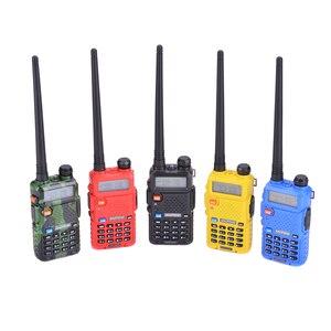 Image 5 - 2Pcs Baofeng UV 5R UHF VHF Walkie Talkie Dual Band Two Way Radio Comunicador Car Radio Station PTT Baofeng UV 5R UV 5R Woki Toki