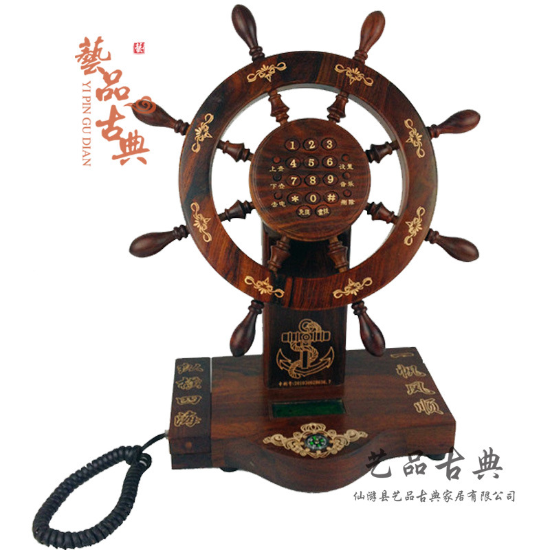 Manufacturers selling antique rosewood Laos Laos rosewood mahogany furniture  wheel telephone high technology - Antique Furniture Manufacturers Promotion-Shop For Promotional