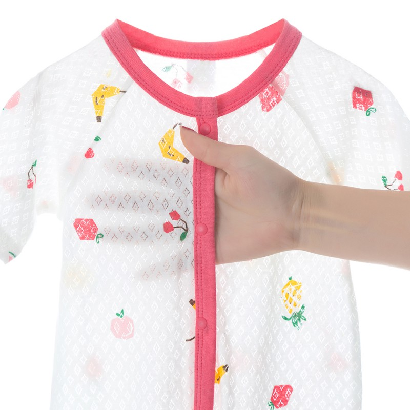Thin Baby Rompers Cotton Baby One Pieces Baby Air Conditioning Suit Soft Comfortable Baby Clothing in Rompers from Mother Kids