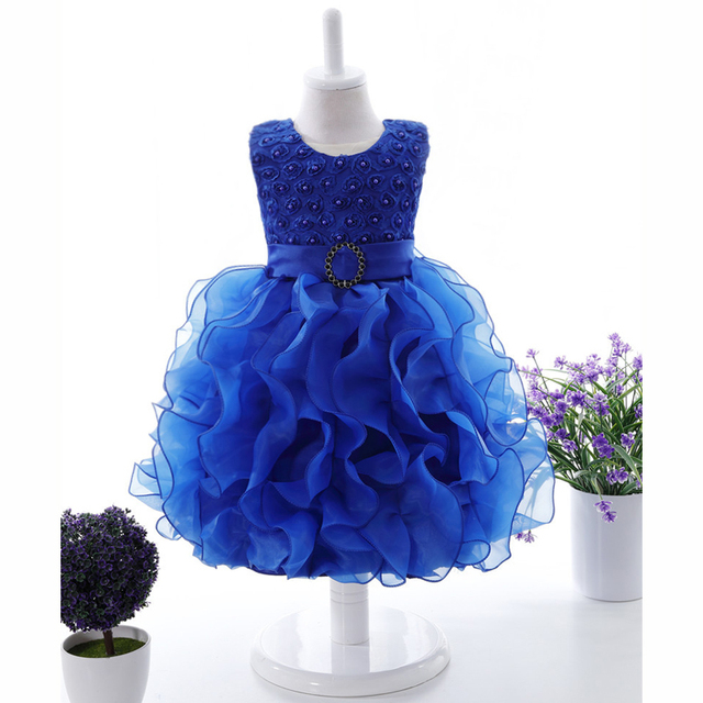 abebee41e332 Baby girl ball gown princess dress First birthday girl party tutu ...