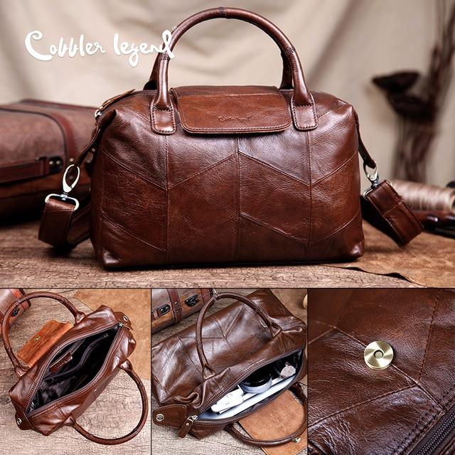 Cobbler Legend Genuine Leather Women's Handbag Retro 2016 New Arrival Women Crossbody Bags Female Handbags For Women #0900506-1
