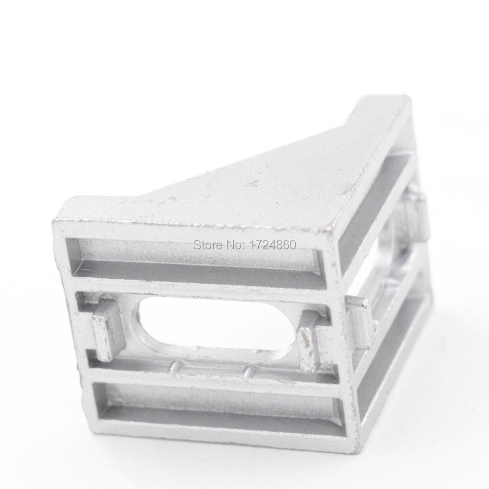 40*40*40 Aluminum Profile Corner Fitting Angle Code Decorative Brackets Aluminum Profile Accessories L Connector 40
