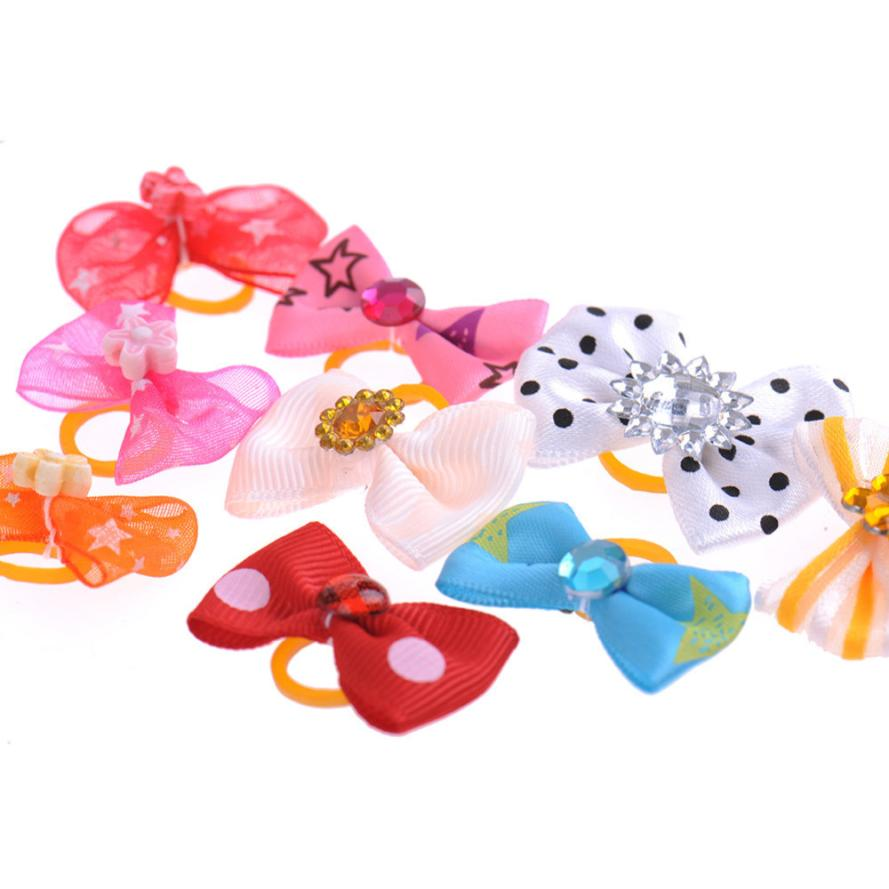50 pcs productos accesorios para perros dog hair bows pet lot pet grooming arcos